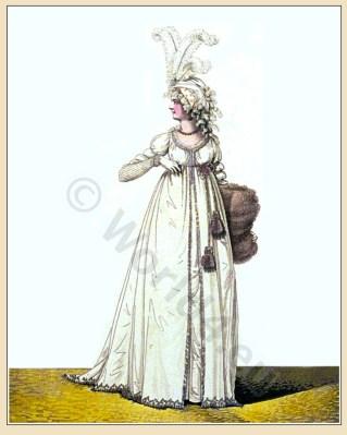 Regency fashion. Gallery of Fashion. Nikolaus von Heideloff.