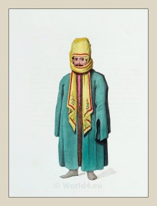 Ottoman man in traditional costume.