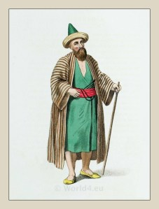 Dervish. Ottoman empire historical clothing