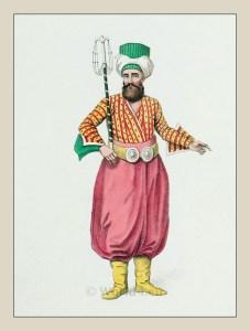 Usher. Turkish Sultan. Historical Turkish costumes. Ottoman empire dresses.