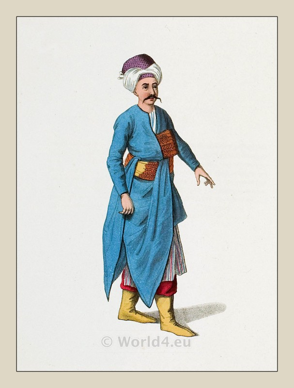 The Costume Of Turkey Ottoman Empire Costume Fashion History
