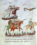 Carolingian Costumes. Knights in Armor. Middle Ages clothing