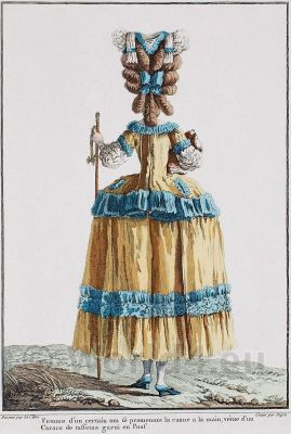 Caraco a´la francaise. French Rococo costumes. Vintage France fashion. Costume Designer ideas and research.