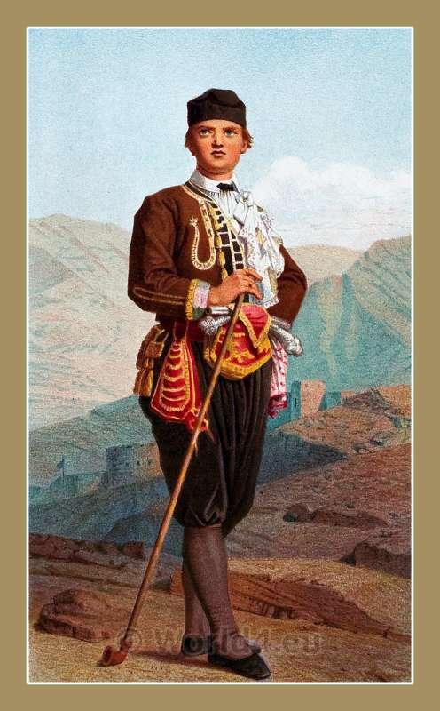 Karlobag, Croatia, traditional, national costumes, Balkans, Dalmatia, Serbian