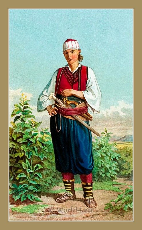 Doljani, Croatia, traditional, national costumes, Balkans, Dalmatia, Serbian