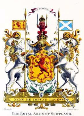 The Royal Arms. Scotland.Highlanders