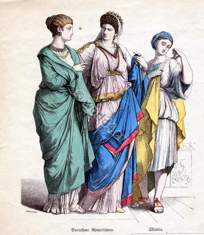 Roman, Greece and Egypt. The Corset and the Crinolin ...