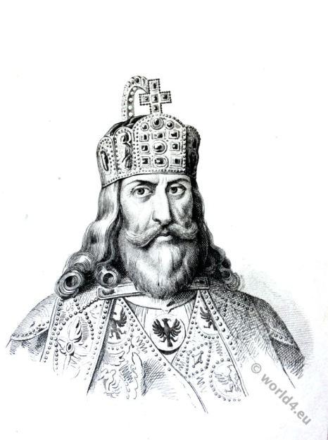 Charlemagne. Carolus Magnus, Carolingian, King, Karl der Große