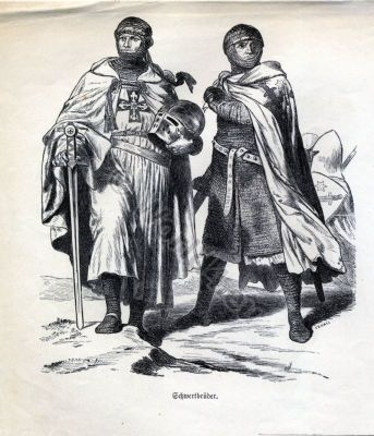 Knights,Teutonic Knighthood,Crusades history,11th century, military costumes, Chivalry,