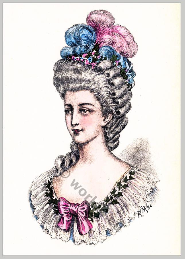 Album Of Historical Hairstyles Album De Coiffures Histories Par E Nissy Costume History