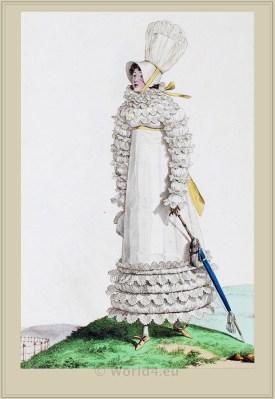 French revolution costume. Jane Austen style.