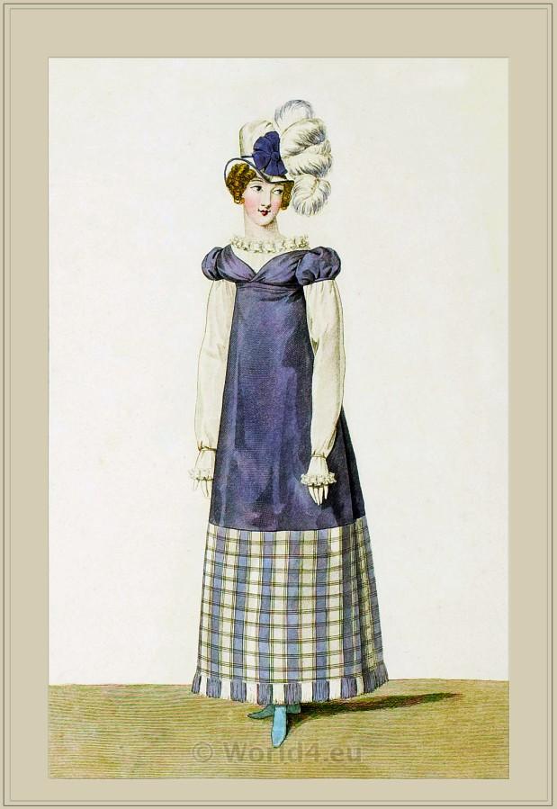 Merveilleuses. Neoclassical fashion.