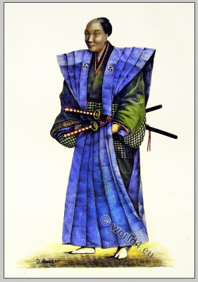 Samurai. Ancient Japan military.