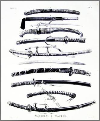 Antique Japanese Samurai Swords