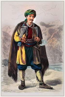 Traditional Montenegrin costume.
