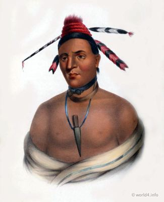 Menomnie, Brave, Natives, Native, America, Tribes, Indian, costumes