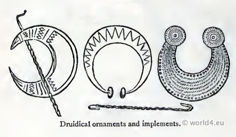 Celtic, Druidical, Jewellery, decoration, gauls