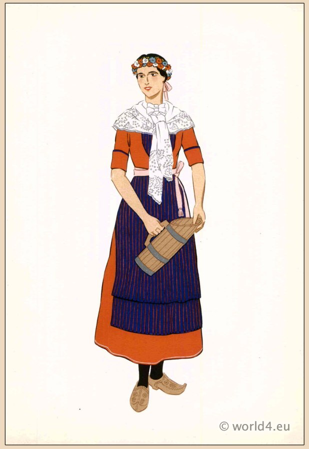 Basque, traditional, French, France, national, costumes, dress, folk, clothing