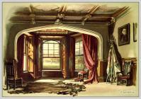 England Empire furniture, English Castle Hall, Landlords Home, Sir Walter Scott Abbotsford