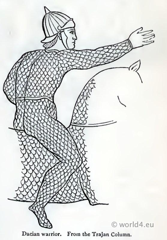 Ancient, Dacian, warrior, armour