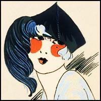 Chapeaux, Art-deco, flapper, roaring twenties, fashion, Très Parisien
