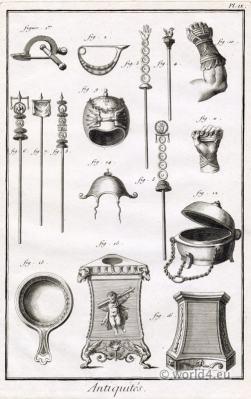 Antique Roman Weapons.