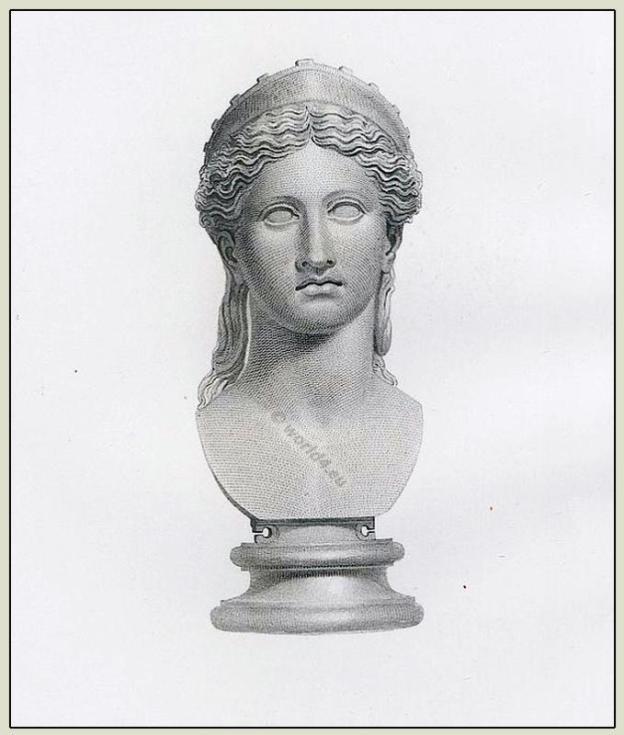 Ancient roman sculpture. Roman Juno