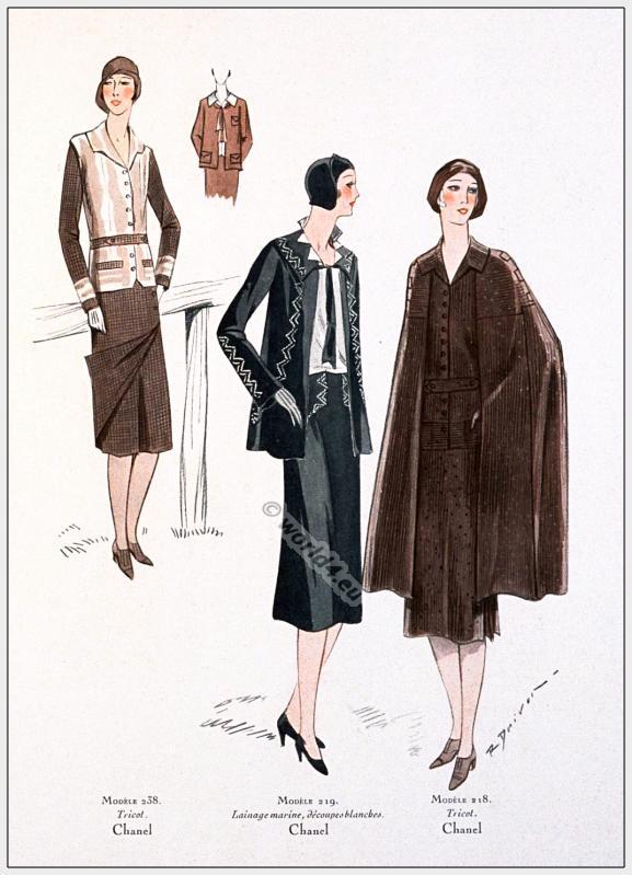 coco chanel costumes february 1930 costume history