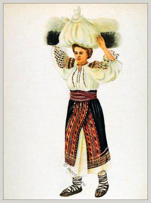 Tracht Siebenbürgen Rumänien