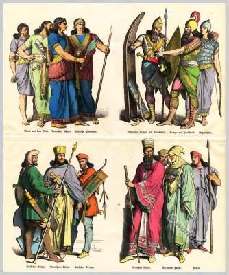 Münchener Bilderbogen, Assyria, Medes,Persian,fashion, history