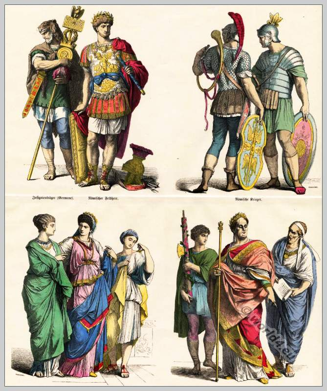 Ancient Roman clothing. Roman Emperor, Legionaries, Roman ... - photo #42