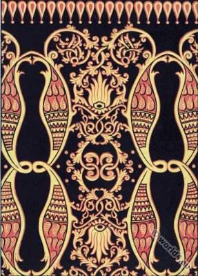 Indian art. Arc. Moghul decoration. India ornaments.