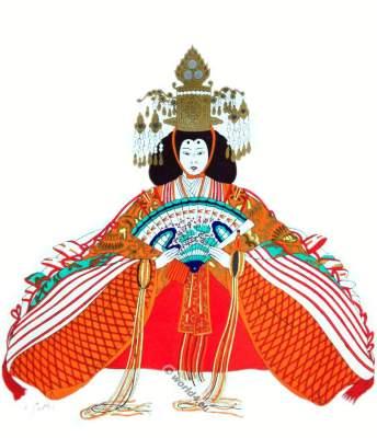 Japan Aristocracy costume
