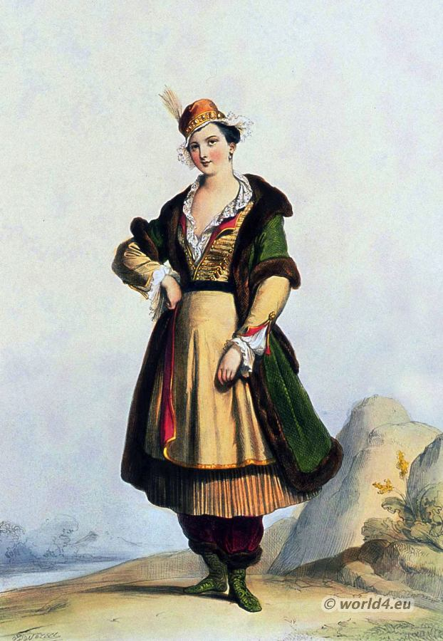 Poland, costume, 17th century, fashion history,