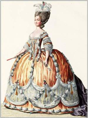 Princess, Sardaigne, Joséphe Marie-Louise, Louis XVI, Court dress, Rococo, fashion history, 18th century