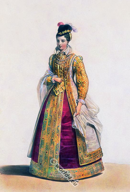Reign Of Henry Ii 16th Century Fashion Costume History