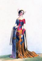 Medieval. middle ages clothing.14th century costume. Duchess of Brittany.