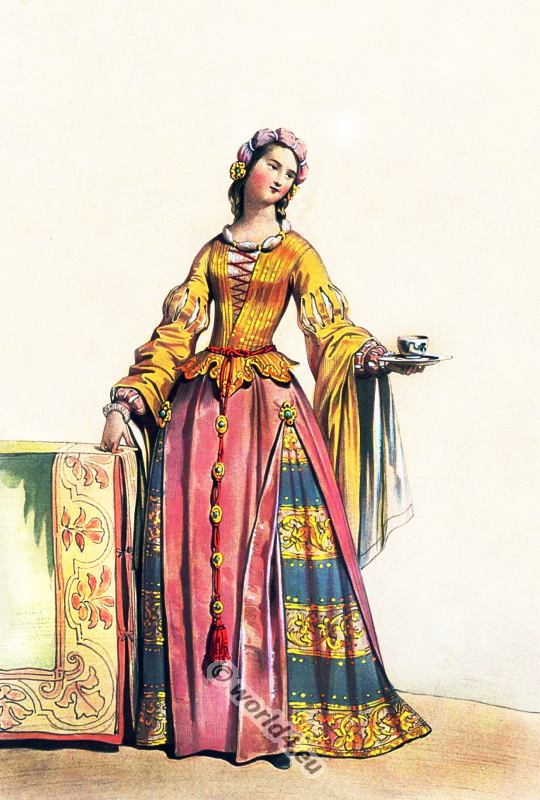 Of The Late 17th Century German Clothing