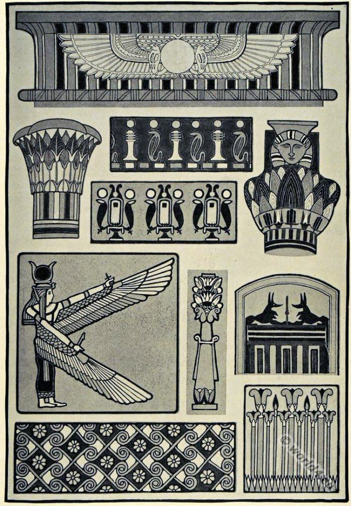 Ancient egyptian culture brief overview of the cultural for Ancient egypt decoration