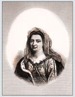 Famous woman Madame de Maintenon mistress of Louis XIV costume and fashion. 17th century clothing