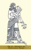 Ancient, Assyria, Babylonia, Priest, costume, fashion, history