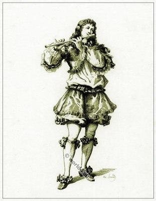 Commedia dell'arte Theater Costume Ottavio, Masques et bouffons, Actors of the comédie italienne.