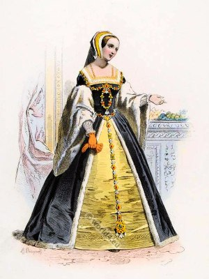 Claude of France. King Francis I. Renaissance fashion. middle ages costume. French Queen