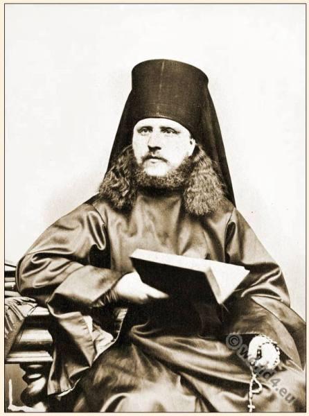 Orthodox, Greek, Priest, habit, Monastic, costumes, history,