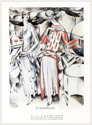 Martha Loewenthal, fashion, designer, jewish, berlin, 1920s
