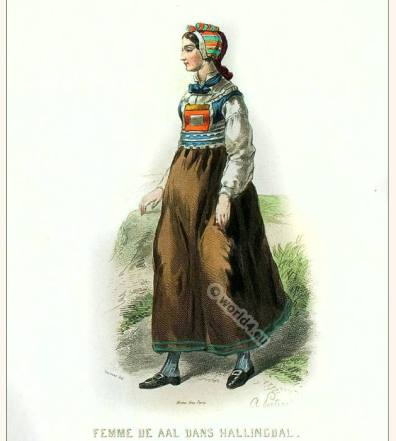 Traditional Farmer costume from Hittertal Fellemarken Norway