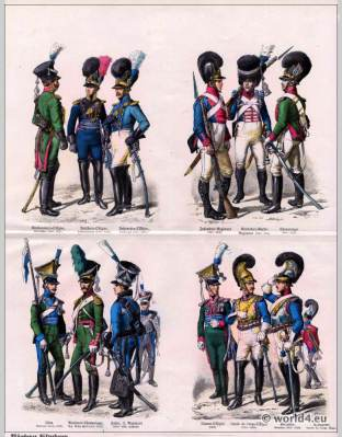 Bavarian, Bavaria, Military, uniforms, 19th century, soldier