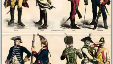 German and Austrian military uniforms in the 18th century  | World4
