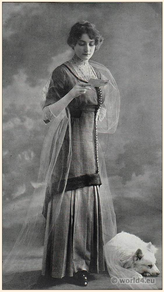 costume, fashion, Belle Époque, Art nouveau, Haute couture,