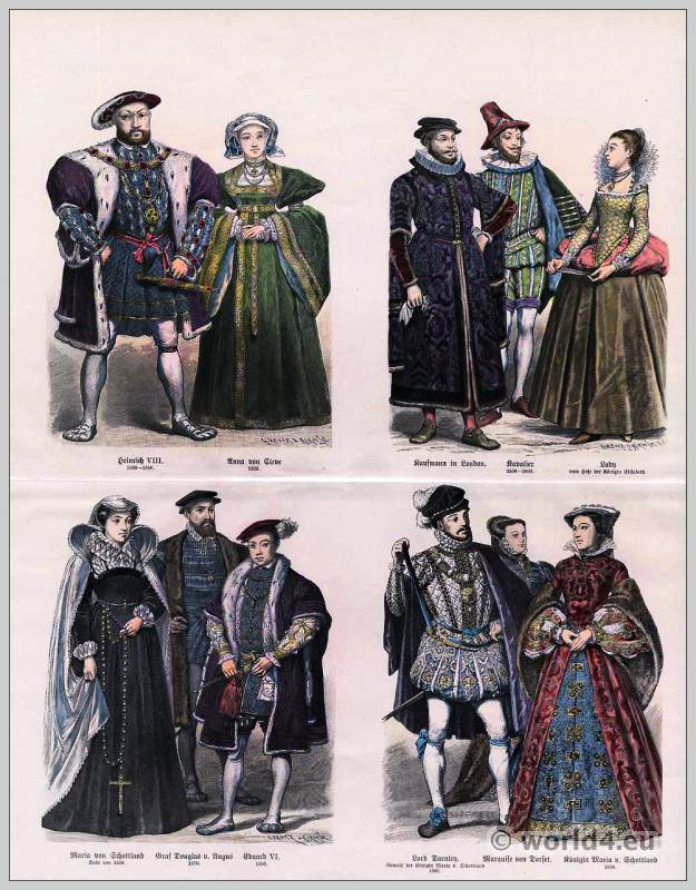Tudor Fashion In The 16th Century Costume History